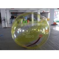 Wholesale Safe 0.8mm Pvc Rolling Inflatable Balls Transparent Inflatable Aqua Ball from china suppliers
