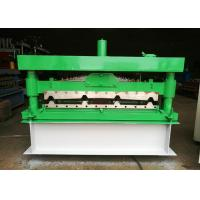 Wholesale Automatic Wall Panel Roll Forming Machine , 1040 Type Plate Rolling Machine 0.2-0.6mm Thick from china suppliers