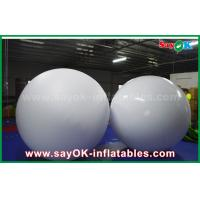 Wholesale LED Lighting Inflatable Balloon 0.2mm PVC Throwing Ball For Vocal Concert / Event from china suppliers