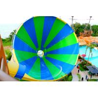 Wholesale Exciting Fiberglass Big Tornado Water Slide 4 Loads For Outdoor Water Park from china suppliers