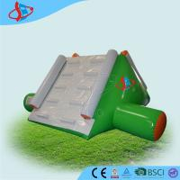 China Green commercial inflatable water slide park For Swimming Pool on sale