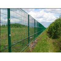 China Easy Install 3D Curved Welded Mesh Fence Welded Utility Fence For Public Grounds on sale