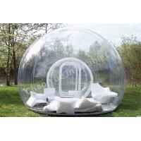 Wholesale 0.8mm PVC Clear Inflatable Bubble Tent for outdoor from china suppliers