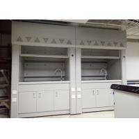 Quality Steel Lab Fume Hood with Expoxy Resin Worktop Resistance to Corrosion , Acid and Alkali for sale