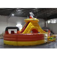 Wholesale Customized Mickey Mouse Bounce House , Blow Up Fun House With Tunnel from china suppliers