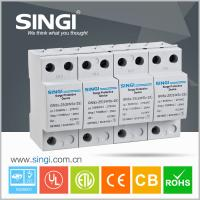Wholesale 4 Pole white Power Surge protector 20kA - 40kA 220V low voltage from china suppliers