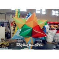 Buy cheap Multi-color Inflatable Fat Star with Blower Inside for Corporate Events Decor from wholesalers