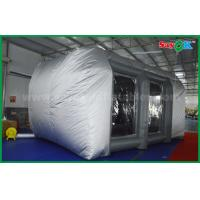 Wholesale Waterproof Cutomized Inflatable Air Tent / PVC Inflatable Spray Booth For Car Paint Spraying from china suppliers