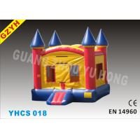 Wholesale Commercial Backyard 0.55mm PVC Tarpaulin Kids Inflatable Bouncy Castle YHCS 018 from china suppliers