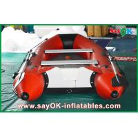 Wholesale 0.9mm PVC Inflatable Boats Aluminium Alloy Floor 4-6 Person Canoeing Kayak from china suppliers