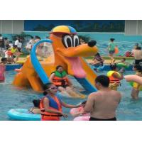 Wholesale Donald Duck Kids Water Playground , Swimming Pool Spray Kids Water Slide from china suppliers