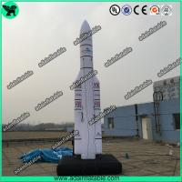Wholesale 5m Giant Space Replica Oxford Inflatable Rocket from china suppliers