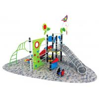 Wholesale Good Weathering Outdoor Playground Climbing Wall for Children A-17602 from china suppliers