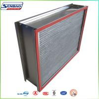 Wholesale Stainless Steel Frame SUS Oven Filter High Temp Hepa Filter High Efficiency from china suppliers