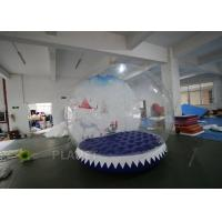 Buy cheap 3m Inflatable Human Size Snow Globe For Promotion Fire Retardant from wholesalers