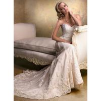 Wholesale New custom-made Lace white ivory wedding dress from china suppliers