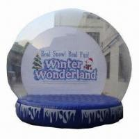 Buy cheap Inflatable Snow Globe, Ideal for Christmas Decoration from wholesalers