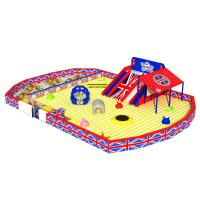 Wholesale Multifunction Kids Playground Equipment With Plastic Slide , Tube , PVC Foam from china suppliers