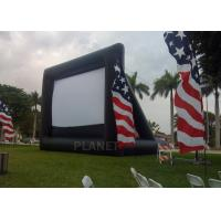 Wholesale Advertising Inflatable Outdoor Movie Screen , Inflatable Projector Screen from china suppliers