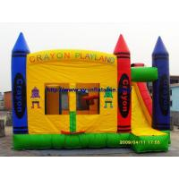 Wholesale Inflatable Slide Castle (COM-09) from china suppliers