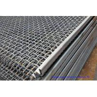 Wholesale Hooked Vibrating Sieve Screen Mesh SUS304 Crimped Customized For Mining / Quarry from china suppliers
