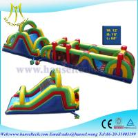 Wholesale Hansel newest design adventure run obstacle courses inflatable playland for kids play from china suppliers