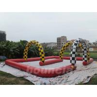 Wholesale Durable 0.55mm PVC Tarpaulin Inflatable Zorb Ball Trace For Commercial Use from china suppliers