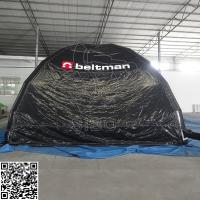 Wholesale Black Dome Inflatable Event Tent 0.6 + 0.9mm Waterproof Inflatable Bubble Tent from china suppliers