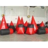 Wholesale Red 0.6mm Pvc Tarpaulin Inflatable Paintball Bunker For Paintball Sports from china suppliers