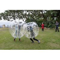Wholesale 0.7mm TPU Human Bubble Ball / Inflatable Bumper Ball For Outdoor Activity from china suppliers