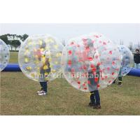 Wholesale Hot Popular Sale 0.7mm TPU Inflatable Bumper Zorb Ball for soccer game from china suppliers