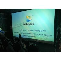 Wholesale Fiber Glass Material 7D Cinema Theater Rain , Wind , Lightning Effect System from china suppliers