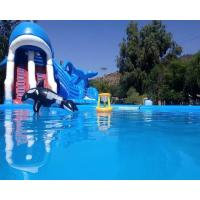 Wholesale Ocean Theme Inflatable Combo Bounce House Attraction Slide Pool Water Games from china suppliers