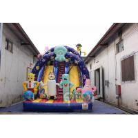 Wholesale Spongebob Inflatable Glorious Slide from china suppliers