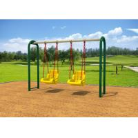 Outdoor Backyard Childrens Swing Set With Reinforced Connectors KP-G010