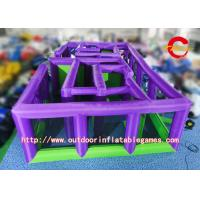 Wholesale Commercial Inflatable Tunnel Maze Adult / Child Inflatable Park Equipment from china suppliers