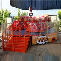 Wholesale 7kw Power Amazing Amusement Park Rides Crazy Car Ride With 1.5m/S Speed from china suppliers