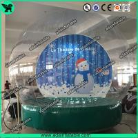 Wholesale Christmas Decoration Transparent Snow Ball Event Show Ball Exhibition Balloon from china suppliers