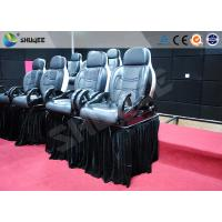 Wholesale Luxury Mobile Motion Theater Chair 5D / 7D / 9D With Air And Water Spray from china suppliers