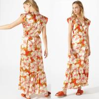 Wholesale Boho Hibiscus Wrap Maxi Women Dress from china suppliers