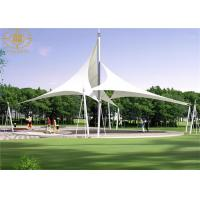 Quality Customized White Heat Resistant PVDF Material Landscape Covers Structures for sale