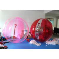 Wholesale PVC / TPU Soft Inflatable Walk On Water Ball Non - Toxic Water Resistance from china suppliers