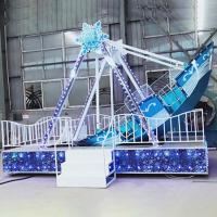 Wholesale Kids Pirate Ship Theme Park With Ice Snow Model Rated Load 12 Riders from china suppliers