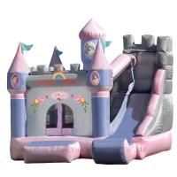 Wholesale Inflatable Bouncer Bouncy House with slide for Commercial Use from china suppliers
