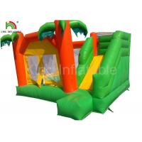Wholesale Rainforest theme 0.55mm PVC Funny Inflatable Jumping Castle For Children / Adult from china suppliers