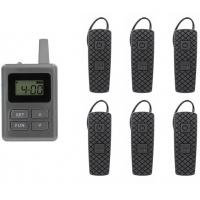 Buy cheap Portable Tour Guide Translation Equipment For Churches Environmental Friendly from wholesalers