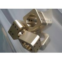 Wholesale Copper Cast Bronze Bearings Slide Block With Solid Lubricant Plugs from china suppliers