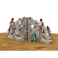 Wholesale Color Customized Kids Outdoor Climbing Equipment Plastic Grey from china suppliers