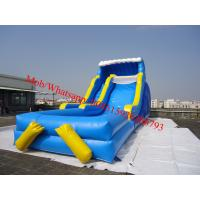 Wholesale above ground pool water slide giant inflatable water slide for sale from china suppliers