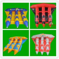 Wholesale Inflatable Banana Boat , Water Game PVC Tarpaulin Inflatable Water Flying Fish(CY-M2730) from china suppliers